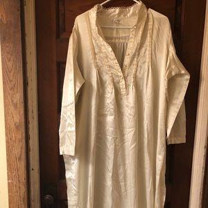 Secret Treasures full length satin night gown